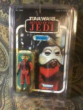 Star Wars Return Of The Jedi 1983 Nien Nunb MOC 77 Back