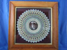 King Edward VIII Framed Hero Cap Peacock Portrait 1 of a Kind Extremely RARE