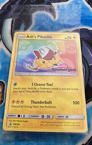 Pokemon TCG Ash's Pikachu SM108 Black Star Promo (sealed)