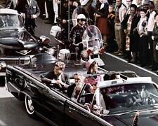 New Photo: Dallas Motorcade of John F. Kennedy Before Assassination - 6 Sizes!