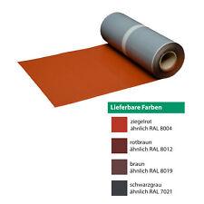 20,37?/m Walzblei color selbstklebend 300mm Meterware Bleifolie Dach Kamin