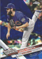 JAKE ARRIETA 2017 TOPPS CHROME SAPPHIRE EDITION #18 ONLY 250 MADE