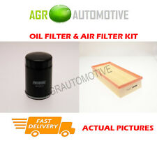 PETROL SERVICE KIT OIL AIR FILTER FOR SAAB 9-3 2.0 205 BHP 1999-03