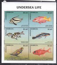 Antigua and Barbuda 1997 fish marine life second klb Mnh