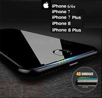PELLICOLA VETRO TEMPERATO CURVO Protezione Totale per iPhone 6 6s 7 8 / PLUS