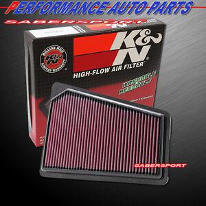 K&N 33-2427 Hi-Flow Air Intake Drop in Filter for 2009-2011 Genesis Sedan 3.8 V6