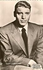 CARTE POSTALE PHOTO CELEBRITE ACTEUR BURT LANCASTER