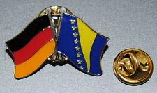 FREUNDSCHAFTSPIN 0043 PIN ANSTECKER DEUTSCHLAND/BOSNIEN+HERZEGOWINA FAHNE NEU