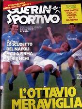 Guerin Sportivo 14 1987 Scudetto del Napoli - Van Basten Gullit + film del campi