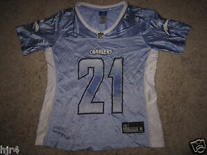 Ladainian Tomlinson LT #21 San Diego Chargers Purple Jersey Womens SM Small