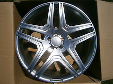 "4 x 20"" AMGM STYLE ALLOY WHEELS FIT MERC ML GL GLK R CLASS AND VITO"