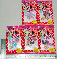 Disney Minnie Mouse Bling Bling Deco Sticker Set, 5pcs - Re-ment   #2ok