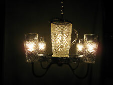 Hand-crafted Pitcher Set Chandelier (Pewter Mist)