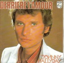 JOHNNY HALLYDAY-DERRIERE L´AMOUR SINGLE VINILO
