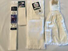 Cross Stitch 3- Dish Towels 1- Book marker 1- Hardanger