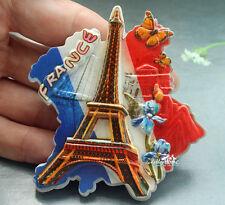 Eiffel Tower, Paris, France Souvenir Resin Fridge Magnet Tourist Travel GIFT