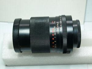 M42 Carl Zeiss Jena MC Sonnar 135mm f3.5 portrait lens.