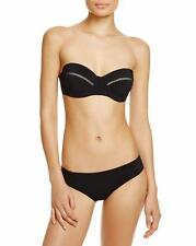 NWT  $245   TORY BURCH   LATTICE  LARGE BANDEAU TOP AND MEDIUM  HIPSTER BOTTOM