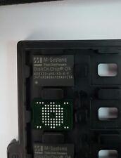 LOT OF 2 PCS. M-SYSTEMS MD8832-d1G-V3-X-P BGA69 SMT DiskOnChip 128MB