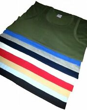6 Pack of Mens Singlet 100 Cotton Athletic Vests Tank Top Gym 2xl 2 Black 2 White 2 Grey
