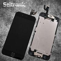Display für iPhone 6 LCD mit RETINA Glas Scheibe VORMONTIERT - SCHWARZ - BLACK -