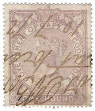 (I.B) Cape of Good Hope Revenue : Stamp Duty £1 (1865)