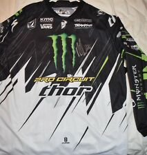 RYAN VILLOPOTO #2 Signed THOR PHASE JERSEY*XL-MCGRATH, ANDERSON DUNGEY,REED,