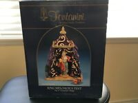 """Vintage 5"""" Scale Fontanini Nativity King Melchior's Tent BOX ONLY!!"""