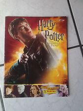 Harry Potter und der Halbblutprinz  .. Klebebilderalbum  Panini (leer)