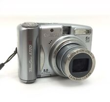 Canon PowerShot A720 IS 8.0MP Point Shoot Digital Camera 6x Optical Zoom