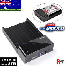 "USB 3.0 SATA 3 III Hard Drive Orico Docking Station 2.5""/3.5"" Hard Disk HDD Dock"