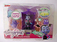 DISNEY JR VAMPIRINA LIGHT UP GLOWTASTIC FRIENDS  NEW IN SEALED BOX
