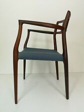 Danish Mid Century Modern Rosewood Arm Chair by Niels Moller