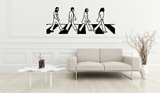The Beatles Music Abbey Road Crossing Adult Kids Iconic Wall Decal Sticker F41