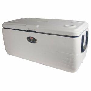 Coleman 3000003694 150-Quart Offshore Pro Series Marine Cooler - White