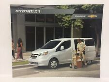 2015 Chevrolet City Express Dealership Brochure Chevy GM