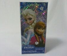 NEW ULTRA FOIL 48 PIECE DISNEY FROZEN JIGSAW PUZZLE NEW IN BOX