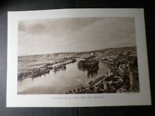 PHOTO CLICHE' BRIQUET, ANCIEN OLD, VALLEE DE LA SEINE PRES DES ANDELYS, 20x29