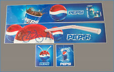 Tamiya 14th 1/14 Scale Truck Reefer Box PEPSI StyleTrailer Decals + GIFT 56319