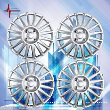 "16"" Hub Caps Wheel Cover Skin ABS 4 Piece Set Silver TOYOTA CAMRY COROLLA"