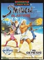Shadow Blasters - Original Sega Genesis Game