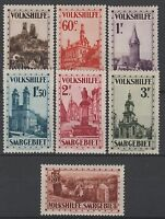 """SARRE STAMP TIMBRE N° 155 / 161 """" OEUVRES POPULAIRES 1933 """" NEUFS xx TTB   N257"""