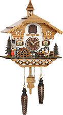 cuckoo clock black forest quartz german  music  bavarian beer drinker new