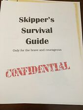 Jungle cruise Survival Guide, made for cast members only!