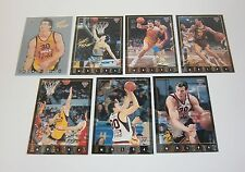 1994 Futera NBL II Basketball Scott Fisher Heroes complete set of 7 insert cards