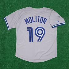 Paul Molitor Toronto Blue Jays Road Grey Men's Jersey