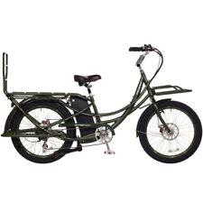 2017 Pedego Stretch Electric Cargo Bike eBike - Olive - 48V 13Ah Battery, New