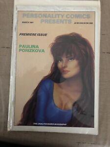Personality Comics Presents Premier Issue Paulina Porizkova The unauthorized...