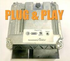 VW AUDI A3 2.0 TDI BKD ECU PLUG & PLAY IMMO OFF ORIGINAL 03G906016 G 0281011364