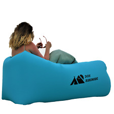 Inflatable Air Lounger Instant Sofa Bed Blow up Seat Lazy Couch Beach festival
